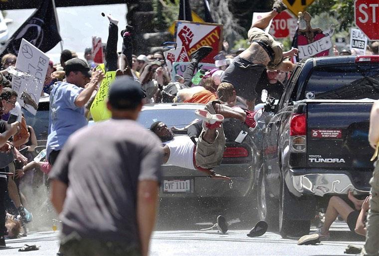 Charlottesville protest 2017