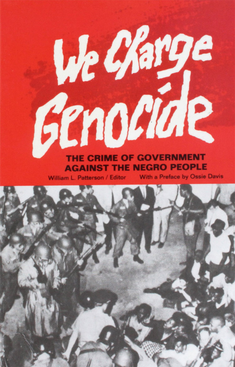 we charge genocide book cover